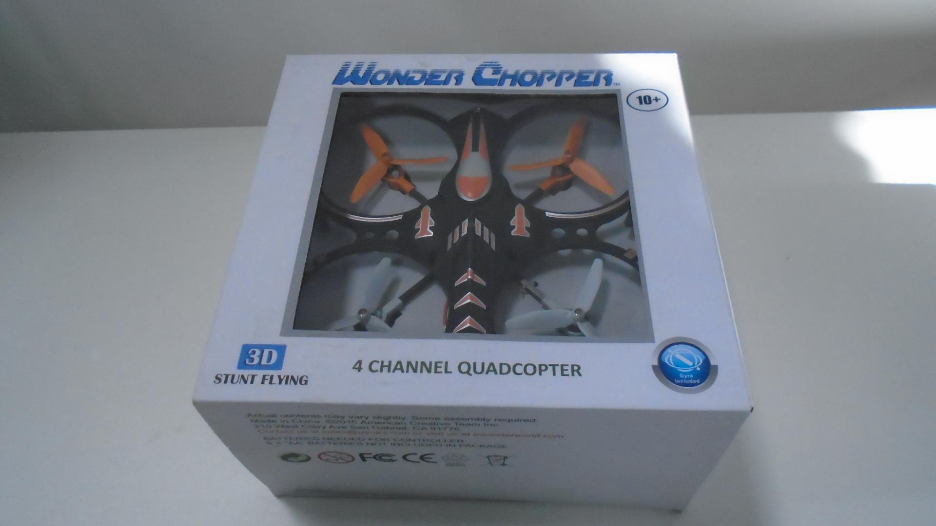 Dron Cuadroptero