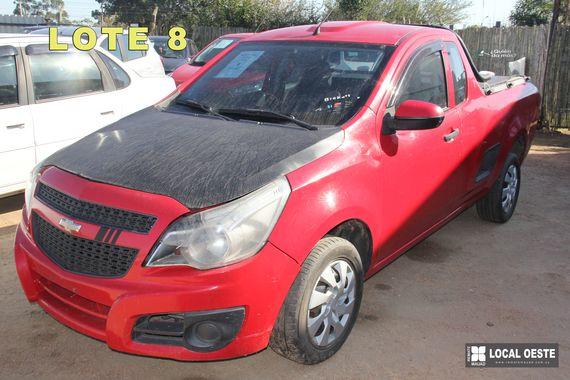 Chevrolet Montana remate Rodriguez Fabeiro