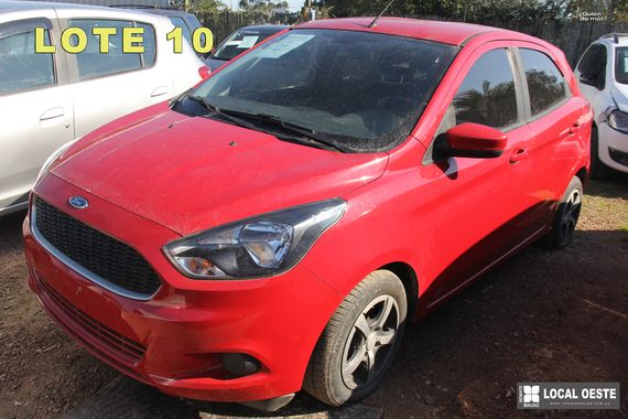 Ford KA lote 10 remate Rodriguez Fabeiro