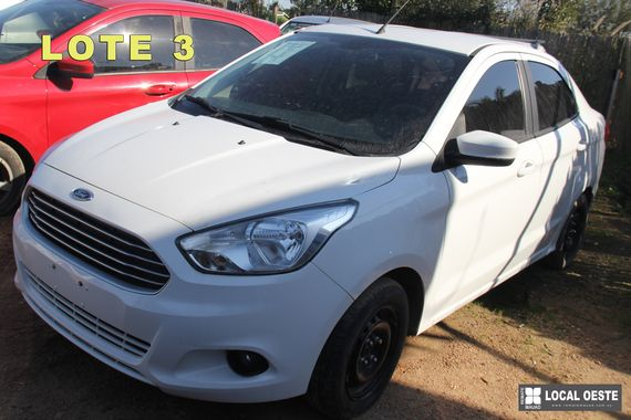 Ford KA lote 3 remate Rodriguez Fabeiro