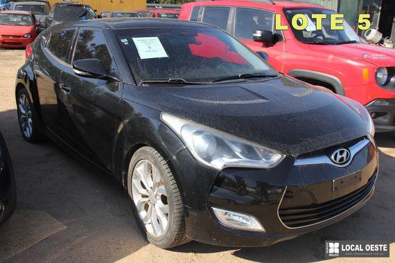 Hyundai Veloster lote 5 remate Rodriguez Fabeiro