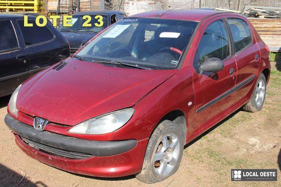 Peugeot 206 remate Rodriguez Fabeiro